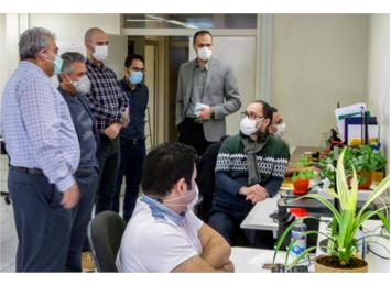 بازدید مدیرکل دفتر حفاظت و بهره برداری منابع آب ایران از شرکت سنجش افزار آسیا
